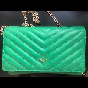 Botkier Soho Quilted Crossbody Leather Purse